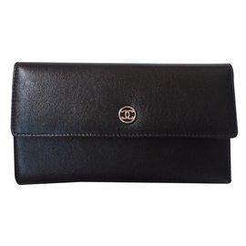 Chanel-Classic Purse-Black