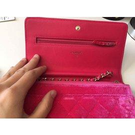Chanel-Clutch bag-Pink