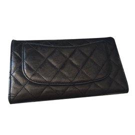 Chanel-Purse-Black,Silvery