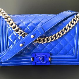 Chanel-BOY chanel GHW-Blue