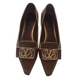 Louis Vuitton-Mocassins-Bronze
