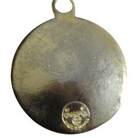 Chanel-Pendant necklaces-Golden