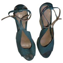 Chloé-Sandals-Blue