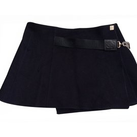 Chanel-Skirts-Blue