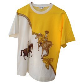 Hermès-T-shirt-Yellow