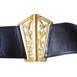 Chanel-Belt-Black