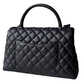 Chanel-Coco handle-Black