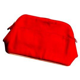 Hermès-Make up bag-Red
