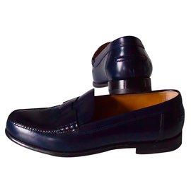 Hermès-Flats-Blue