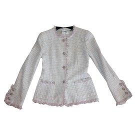 Chanel-Tweed jacket-Multiple colors