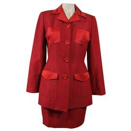 Chantal Thomass-Skirts Suit-Red