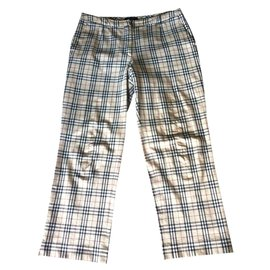 Burberry-Trousers-Beige