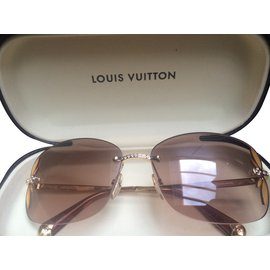 Louis Vuitton-Lunettes-Marron