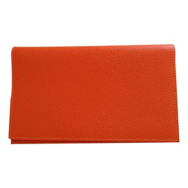 Hermès-Diary cover-Orange
