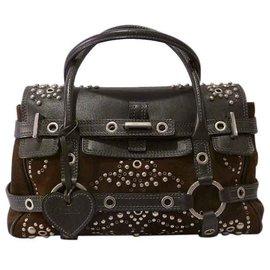 f8ffe8763a Luella-Gisele Studded Tote Bag-Green ...