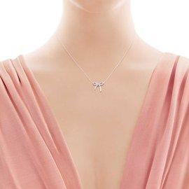 Tiffany & Co-Pendentif Ruban noué Tiffany-Argenté