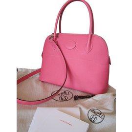 Hermès-BOLIDE 27-Pink
