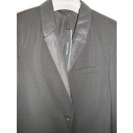 Damir Doma-Men's blazer black jacket-Black
