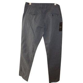 Byblos-Men's fashion style pants grey-Grey