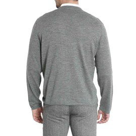 Cruciani-Grey wool cardigan-Grey