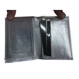 Chanel-Porte carte-Argenté