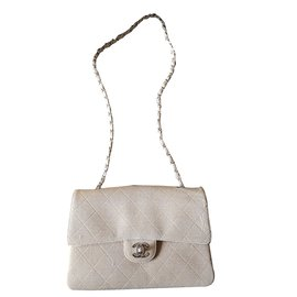 Chanel-Handbag-Beige