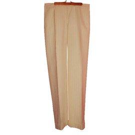 Moncler-Casual pants-White