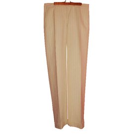 Moncler-Pantalons-Blanc