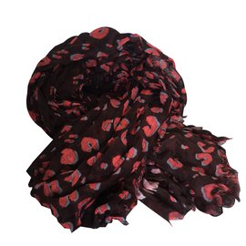 Louis Vuitton-Foulard-Marron