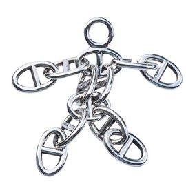 Hermès-Chaine d'Ancre Dance-Argenté
