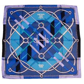 Hermès-Parcours Sans Faute-Bleu ... 3907c225f32