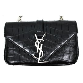 Yves Saint Laurent-Baby Satchel-Noir