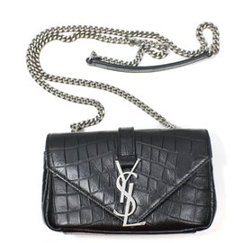 Yves Saint Laurent-Baby Satchel-Black