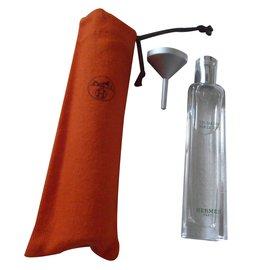 Hermès-Rechargeable nomadic spray-Caramel