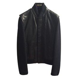 Roberto Cavalli-Bomber jacket-Black