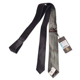 Roberto Cavalli-Slim Tie-Grey