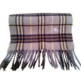 Burberry-Scarf-Blue