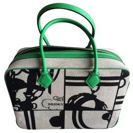 Hermès-PLUME 32-Vert