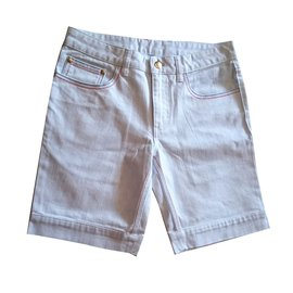 Jc De Castelbajac-Shorts-White