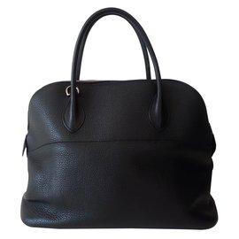 Hermès-Handbag-Black