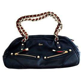 Gucci-Handbag-Black