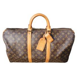 Louis Vuitton-Travel bag-Brown