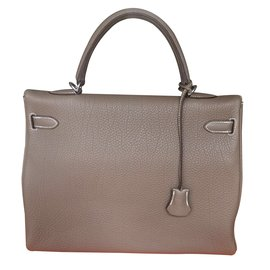 Hermès-Kelly 35-Grey