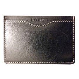 Loewe-Card Wallet-Black