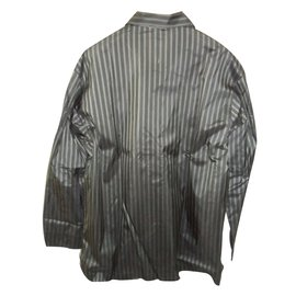 Brioni-Men's pure fine silk pajama set-Multiple colors