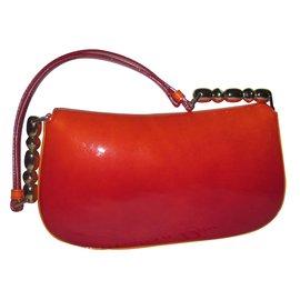 Dior-Handbag-Orange