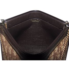 Dior-Clutch bag-Brown