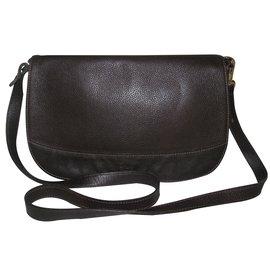 Longchamp-Handbag-Brown