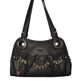 Lancel-Handbag-Brown