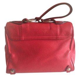 Azzaro-Handbag-Red